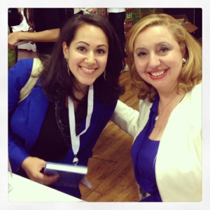 Agapi Stassinopoulos book signing SHE Summit