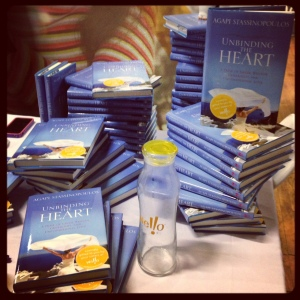 Unbinding the Heart book by Stassinopoulos SHE Summit