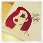 Jessica Rabbit drawing