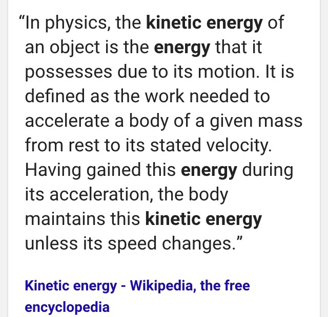 kinetic energy essay The kinetic energy (bounce height) was affected by the drop height (potential energy) i know this because the higher the ball was dropped the bigger the bounce height for example a ping-pong ball was dropped at 40 cm and bounce and average of 20 4cm at 60cm though the ball bounced an average of 33 cm.