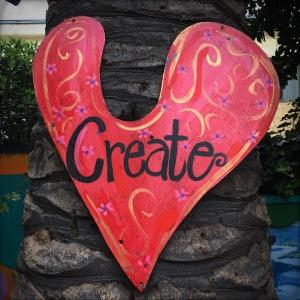 create heart