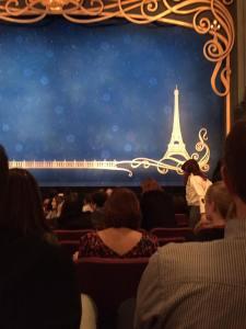 Anastasia Broadway stage