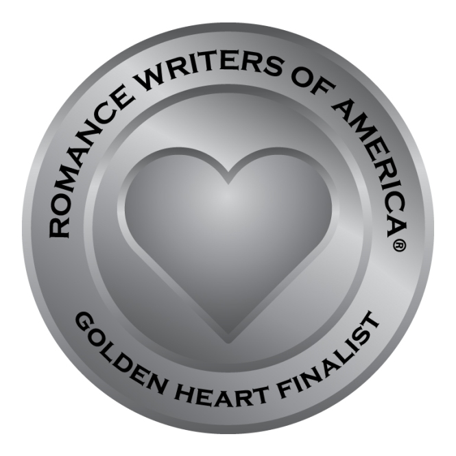 RWA golden heart finalist graphic