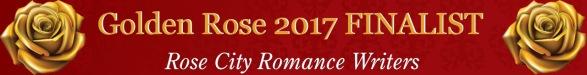 Venus Rising golden rose finalist graphic