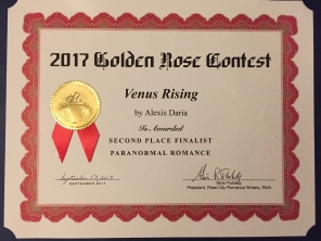 Venus Rising, 2017 Golden Rose 2nd Place Winner