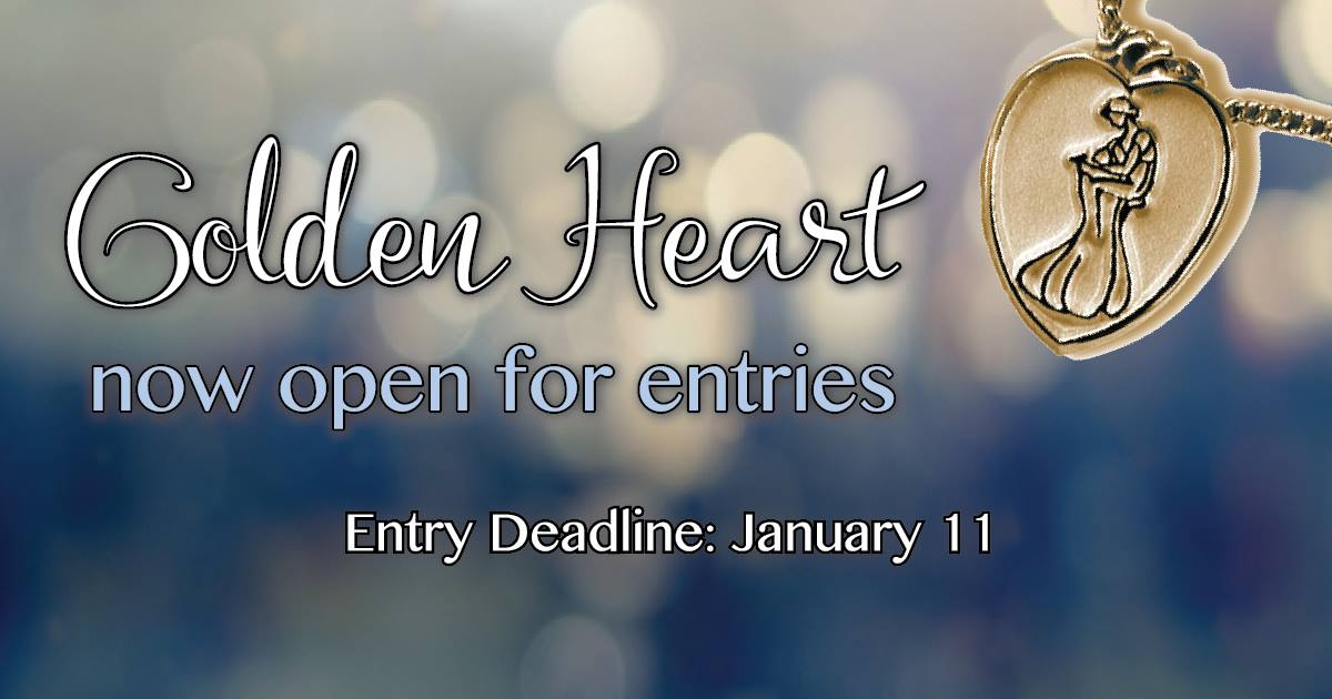 RWA golden heart contest entry deadline january 11