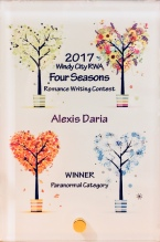2017 Four Seasons Contest Paranormal 1st place