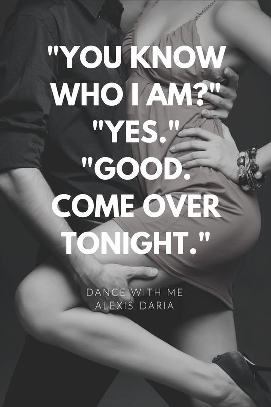 Dance with Me by Alexis Daria bonus scene