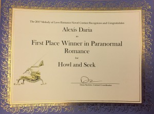 2017 Melody of Love First Place Howl and Seek by Alexis Daria