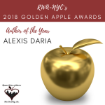 RWA NYC 2018 Golden Apple Award for Author of the Year