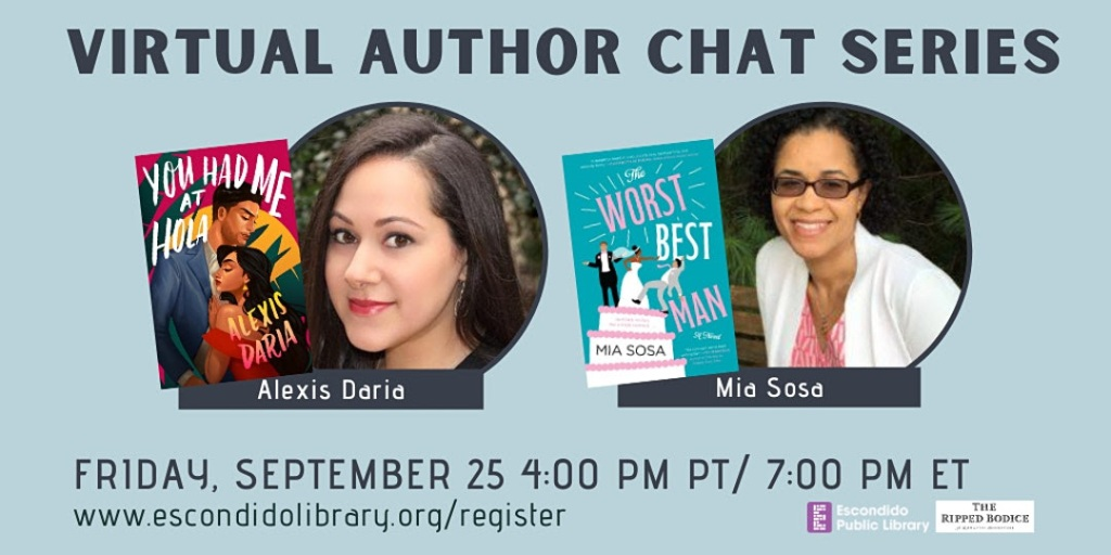 Virtual Author Chat Series